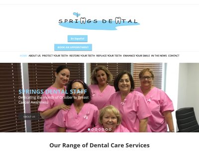 Springs Dental Miami Springs Florida Oral Cancer Screening Dental Examination Digital X-Rays