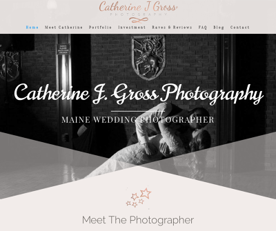 Catherine J. Gross Photography Wedding Packages Portland Maine