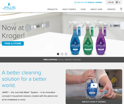 JAWS International, Ltd Toledo,OH Glass Cleaner Kitchen Cleaner/Degreaser