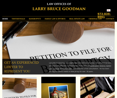 Law Offices Of Larry Bruce Goodman New Jersey Bankruptcy Estate Planning Estate Administration
