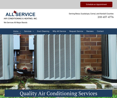 All Service Air Conditioning & Heating Inc.
