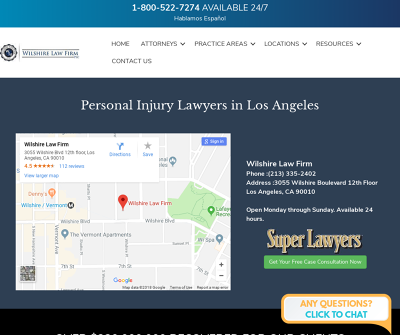 Wilshire Law Firm Los Angeles California Bicycle Accidents, Car Accidents, Motorcycle Accidents