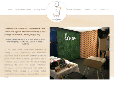 Photo Booth Hire Wollongong - The PhotoBooth Team