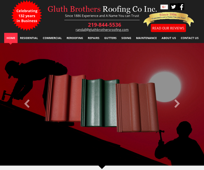 Gluth Brothers Roofing Co Inc Indiana Re-roofing Roof Repairs Gutter Maintenance Wood Shake Repair