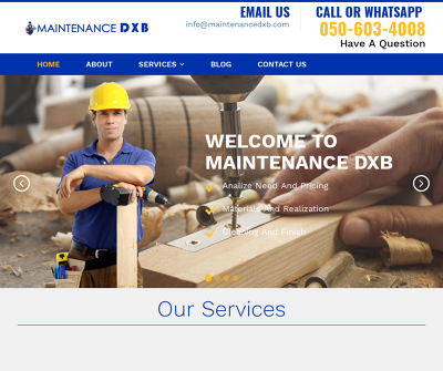 Professional Handyman in Dubai Carpentry Work Plumbing Work Painting Work Electrical Work
