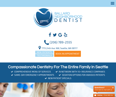 Ballard Neighborhood Dentist Washington Athletic Mouth Guards Gentle Tooth Extractions