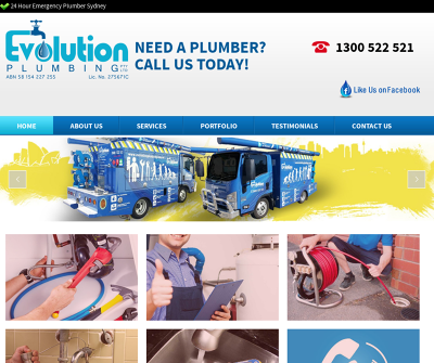 Emergency 24 Hr Evolution Plumbing Service in Sydney Australia Emergency 24/7 Plumbing Service