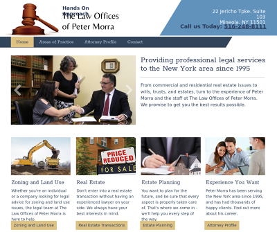 The Law Offices of Peter Morra New York Zoning Land Use Real Estate Transactions Estate Planning