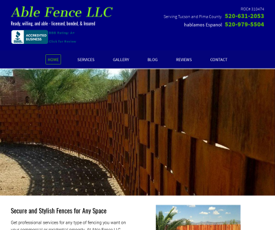 Able Fence Co Tucson Arizona Redwood Galvanized Steel Posts Redwood Steel Gate Frames