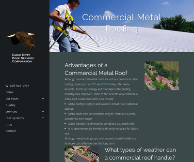 Roofing Contractors Tewksbury, MA Roof Design & Construction Commercial Roof Systems