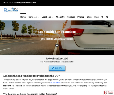 Locksmith San Francisco | Licensed Locksmith Service Car Lockout Laser Cut Key Trunk Lockout
