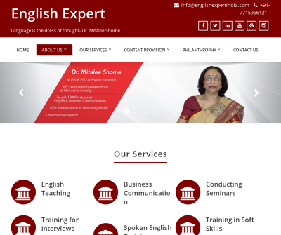 English Expert India English Speaking Learning Course Soft Skills Training Course Job Interview Skills