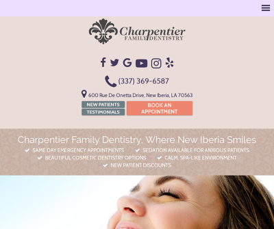 Charpentier Family Dentistry New Iberia Louisiana Athletic Mouth Guards TMJ Disorder