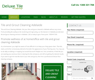 Deluxe Tile Cleaning | Adelaide, Australia | Tile & Grout Cleaning Melbourne Deluxe Carpet Cleaning