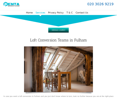 Loft Conversion in Fulham by Penta Builders UK Painting Decorating Home Extensions Damage Restorations