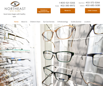 Northeast Eye Care West Point Nebraska Regular Eye Exams for Children, Annual Eye Exams for Adults