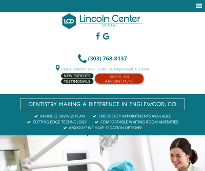Lincoln Center Dental Englewood Colorado