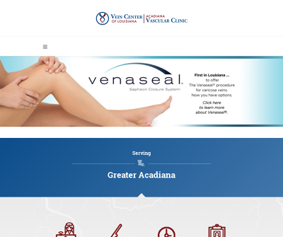Vein Center of Louisiana Varicose Veins Reticular Veins Spider Veins Chronic Venous Insufficiency