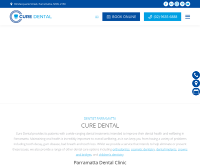 Cure Dental Parramatta, Australia No GAP Dental General Dentistry Cosmetic Dentistry