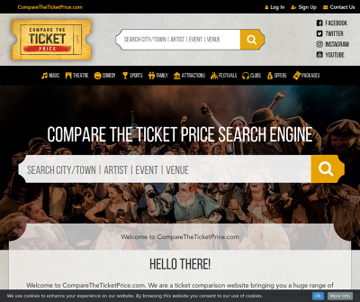 COMPARE THE TICKET PRICE SEARCH ENGINE