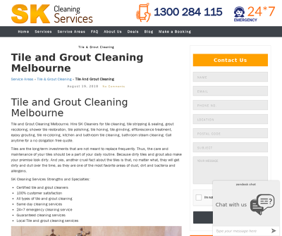 SK Tile and Grout Cleaning