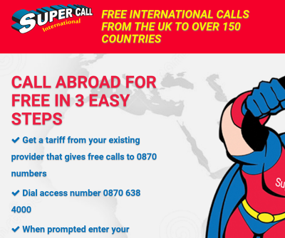 super call International : Free calling Site