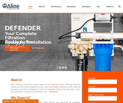 Aline Group Pty Ltd Pumping with innovation