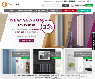 Designer Radiators Online Burnley,UK Radiators Heated Towel Rails Electric Heating