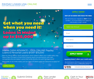 Maine payday loans
