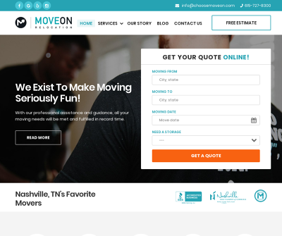 Move on Relocation - Hard-Working and Dedicated team of Nashville Movers