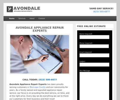 Avondale Appliance Repair Experts Avondale,AZ Refrigerator Repair Dishwasher Repair