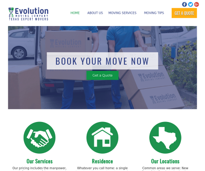 Evolution Moving Company New Braunfels