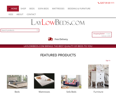 Laylow Beds