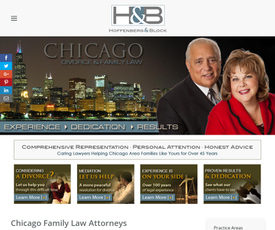 Hoffenberg & Block Chicago,IL Family Law Divorce High Net Worth Divorce Legal Separation