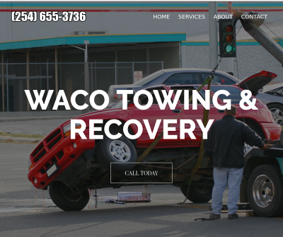 Waco Towing & Recovery McLennan, TX Waco Towing Service Tow Truck Service Winch Outs