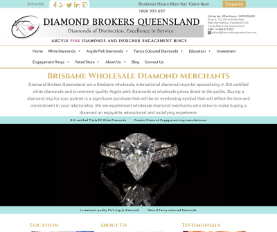 Diamond Brokers Queensland Cleveland,Australia White Diamonds Argyle Pink Diamonds