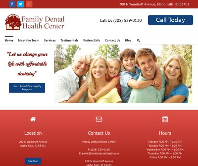 Family Dental Health Center Idaho Falls,ID Sedation Dentistry Forever Whitening Crowns