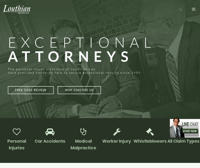 Louthian Law Firm, P.A Columbia, SC Personal Injury Vehicle Accidents Work Injuries