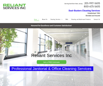 Reliant Services Inc Newark,NJ Washroom Services Floor Services Carpet Cleaning