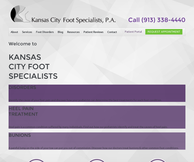 Kansas City Foot Specialists  Kansas Heel Pain Foot Trauma Sports Injuries