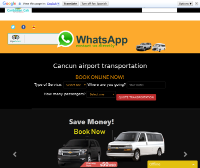 Caribbean-cab: Cancun Airport Transportation