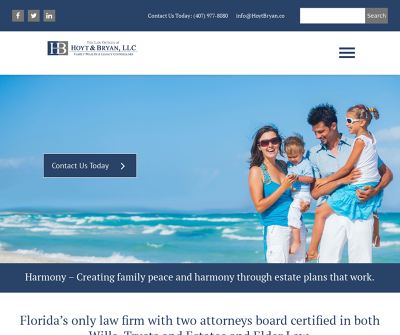 The Law Offices of Hoyt & Bryan Oviedo,FL Estate Planning Elder Law Business Planing