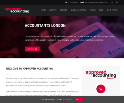 Approved Accounting London Small Businesses Limited Companies Switching Accountants