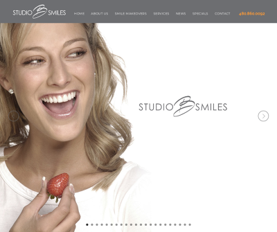 Studio B Smiles Scottsdale,AZ 6 Month Smiles Implants Lip Re-positioning
