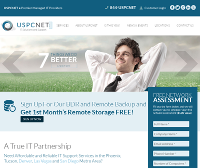 USPCNet Phoenix, AZ Cloud Computing Data Backup & Recovery Email Security