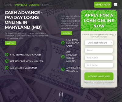 Payday loans online in Maryland