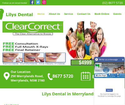 Lilys Dental Merrylands, Australia Orthodontics Clear Invisible Braces