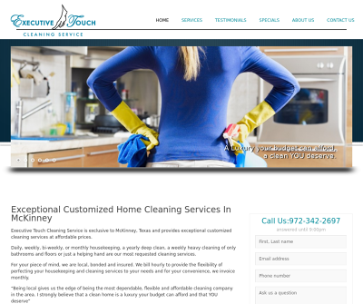 Executive Touch Cleaning Service, LLC Mckinney,TX Post-Construction Cleaning