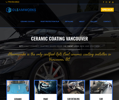 Gleamworks Detailing Vancouver, British Columbia Paint Protection Film Car Detailing