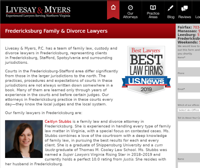 Livesay & Myers, P.C. - Family Law and Divorce Attorneys in Fredericksburg, Virginia